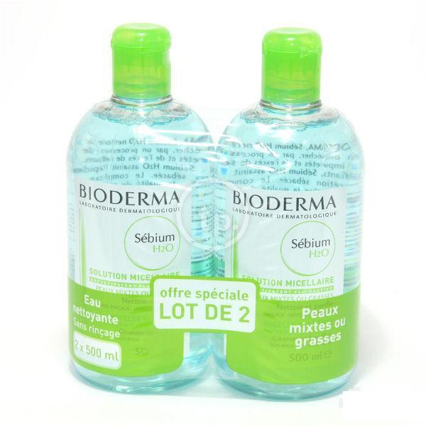 Tẩy trang Bioderma Sébium H20 Pháp