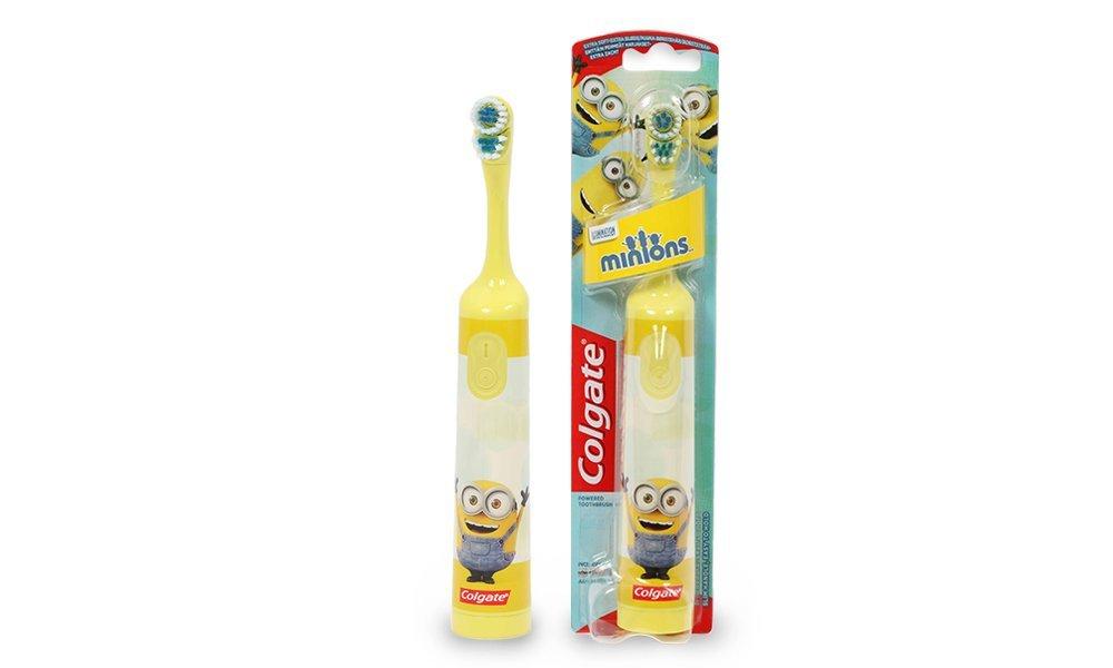 Bàn chải đánh răng chạy pin Colgate Kids Minions