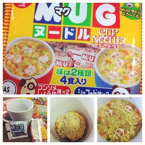 Mì ăn liền Mug Nissin Nhật Bản Cho Bé