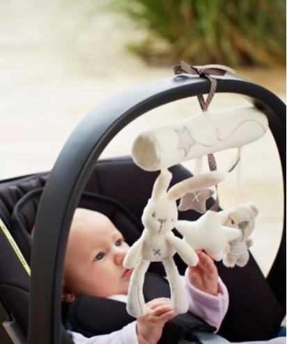 Treo cũi, xe đẩy, ô tô Mama & Papa Thỏ và Gấu