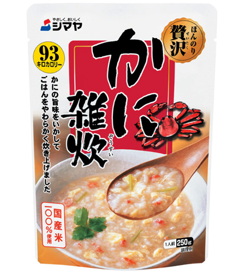 Cháo ăn liền Shimaya Vị Cua Nhật Bản