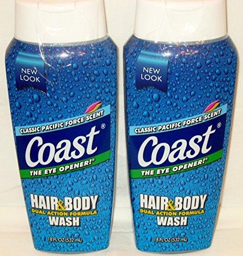 Tắm gội Coast Hair & Body Wash (Mỹ) 532ml