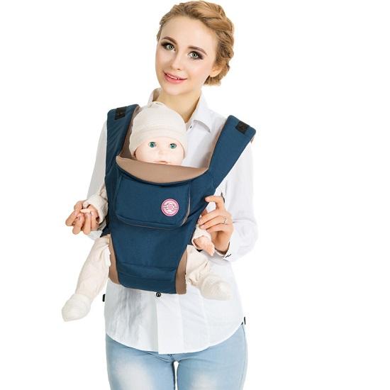 Địu ngồi Hàn Quốc Baby Mamy (Hipseat and Carrier)