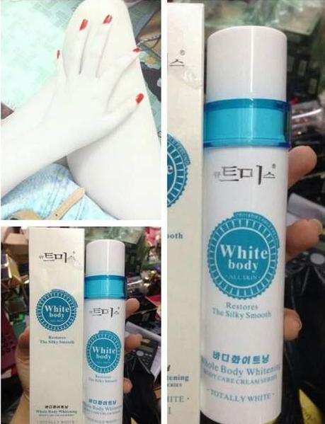 Kem kích trắng white body Hàn Quốc