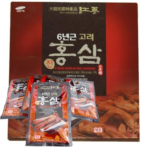 Nước hồng sâm Hàn Quốc hộp 30 gói