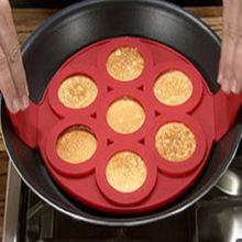 Khuôn silicon bánh Pancake 7 lỗ