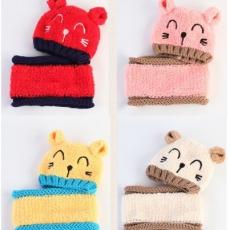 Mũ mèo len