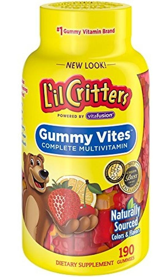 Kẹo dẻo Lil Critter Gummie Vite Cho Trẻ Biếng Ăn